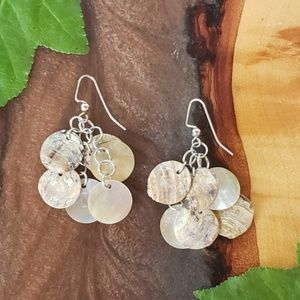Jewelry - HANDMADE MOTHER OF PEARL RAW SHELL